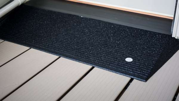 TRANSITIONS® Angled Entry Mat 1.5