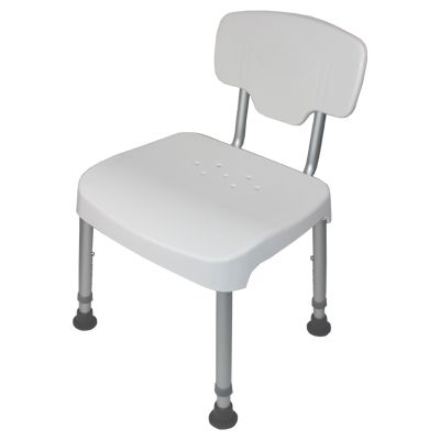 The Great Shower Chair with Back