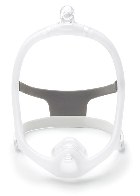 DreamWisp Nasal Mask FitPack with Headgear (S, M, L Cushions)